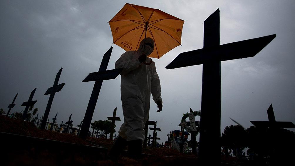 Con el medio millón de muertos, Brasil es uno de los países más afectados por la pandemia.