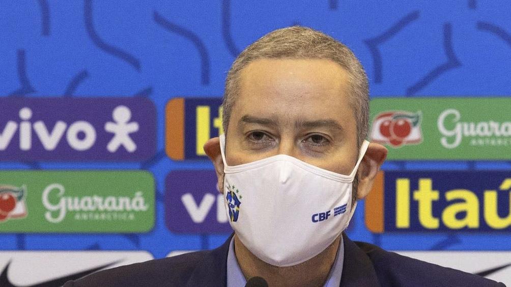 Rogerio Caboclo, presidente de la Confederación Brasileña de Fútbol (CBF), fue licenciado en su cargo este domingo y por los próximos 30 días por el Comité de Ética de la entidad